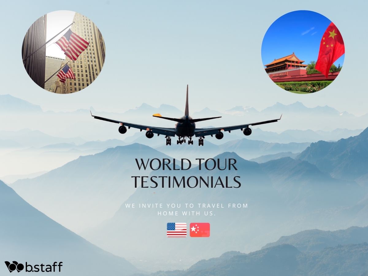 Travel with us : Around the World testimonials. Discover China and USA with Greg Gaghan from SCHMIDT Technology Corporation group and Leo Liu from Daily Energy Co